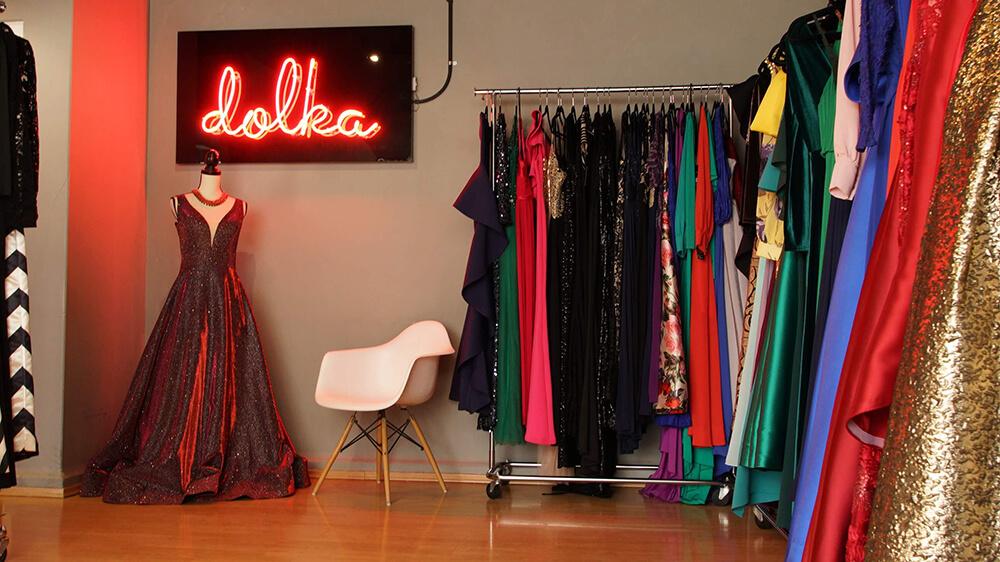 vestidos Dolka Showroom Ciudad de México